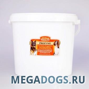 Animal Health Кормовая биодобавка для собак Prozyme-контроль микробиального баланса в кишечнике и вытеснение патогенных микроорганизмов.